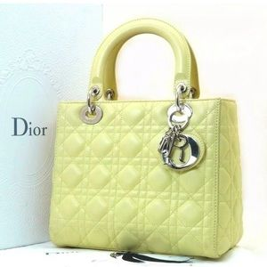 Authentic Lady Dior Bag
